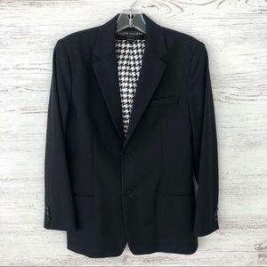 RLBL Vintage Wool Black Blazer Sz 10
